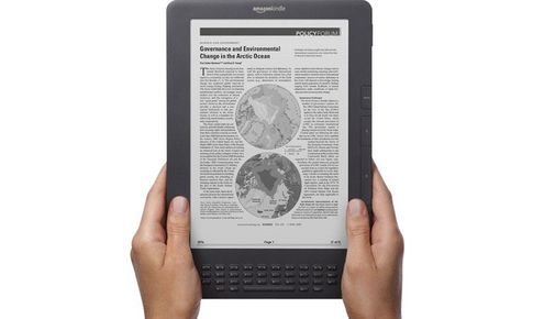 Электронная книга Amazon Kindle DX Graphite