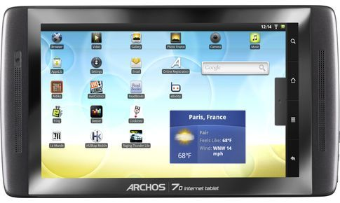 Интернет-планшет Archos 70 Internet Tablet 8Gb
